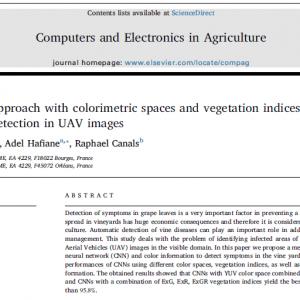 ترجمه مقاله یادگیری عمیق در کشاورزی